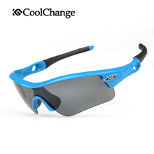 COOLCHANGE Professional  5 Groups of Lenses Polarized Sunglasses Cycling Glasses Sports Eyewear Oculos De Sol , 4 Colors