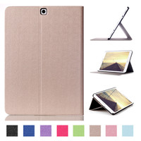 Tab S 2 9 7 Smart Cover Case Touch Series Triple Folding Flip PU Leather Case