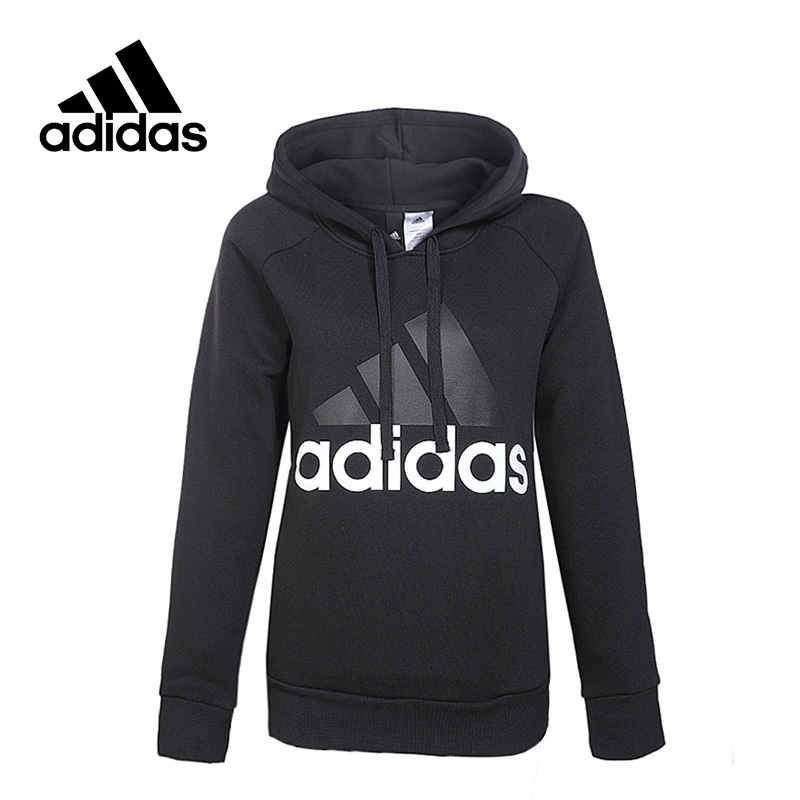 New Arrival Original Adidas ESS LIN OH FL Breathable Women's Hooded Pullover Sportswear adidas new arrival official ess 3s crew men s jacket breathable pullover sportswear bq9645