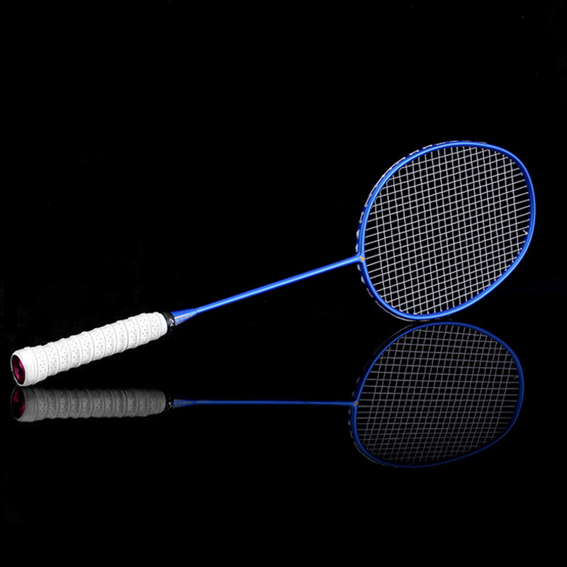 Hot Graphite Single Badminton Racquet Professional Carbon Fiber Badminton Racket With Carrying Bag MCK99