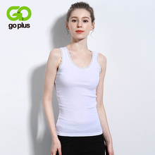 GOPLUS Sexy Lace Patchwork Tank Tops Women Camisole Cotton Basic Vest Ladies Fashion Casual Streetwear Slim Party Top Female