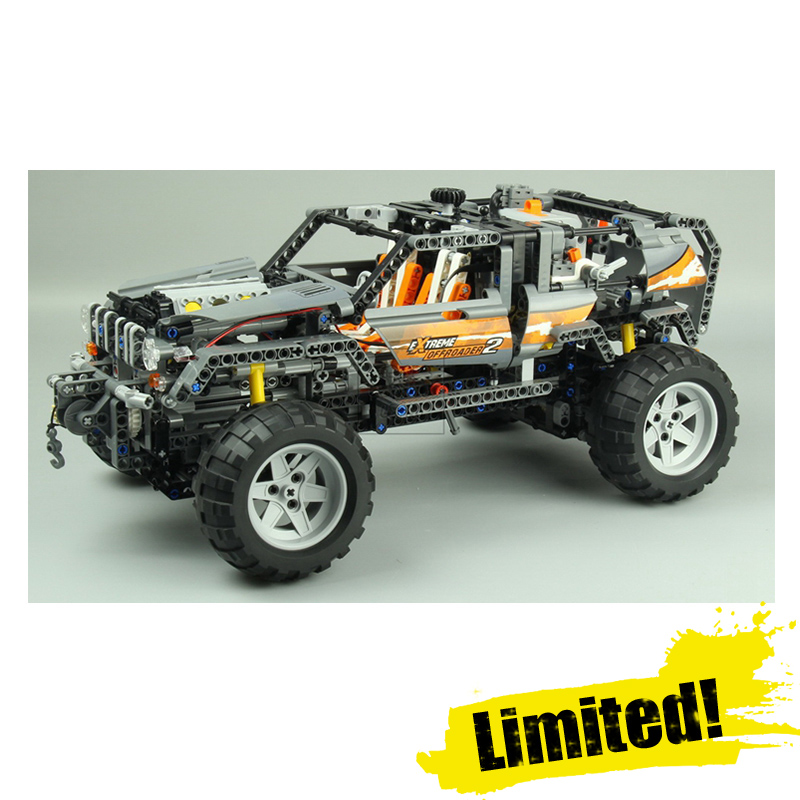 Lepin 20030 1132Pcs Technic Ultimate Series The Off-Roader Set Children Educational Building Blocks Bricks Toys Model Gifts 8297 lepin 20030 1132pcs technik ultimate off roader cars legoingly 8297 sets building nano block bricks toys for boy gifts