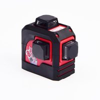Fukuda,MW 93T 3D 12Lines laser level ,Red Laser level,Self Leveling 360 Horizontal,Vertical Cross Super Powerful