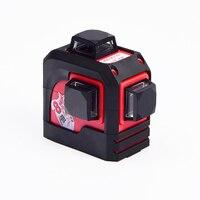 Fukuda,MW 93T 3D 12Lines laser level ,Red Laser level,Self Leveling 360 Horizontal,Vertical Cross Super Powerful