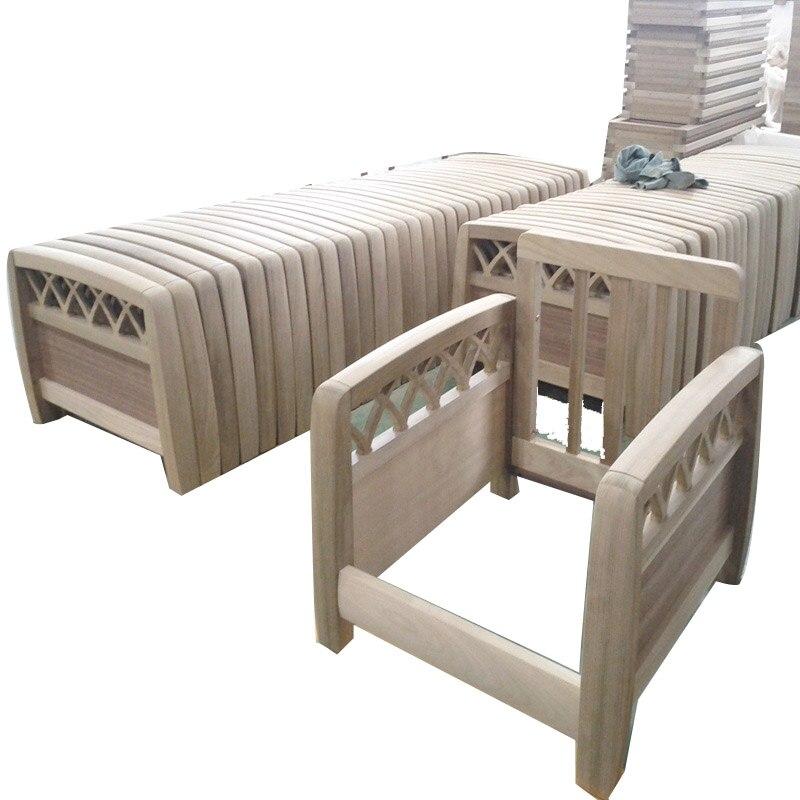 Antiguos marcos de madera sofá Cama tallada a mano de alta calidad ...