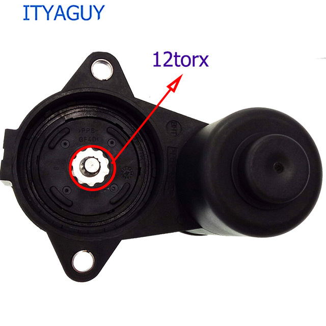 6/12 TORX 3C0998281 3C0998281A 3C0998281B 32330208 Rear Caliper Parking Brake Servo Motor For AUDI Q3 VW Passat B6 B7 CC Tiguan
