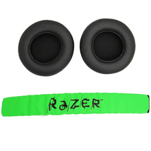 Almofada para fones de ouvido gamer, substituição de forro acolchoado para Razer Kraken Pro 7.1 ou Electra