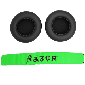 Image 1 - Almofada para fones de ouvido gamer, substituição de forro acolchoado para Razer Kraken Pro 7.1 ou Electra