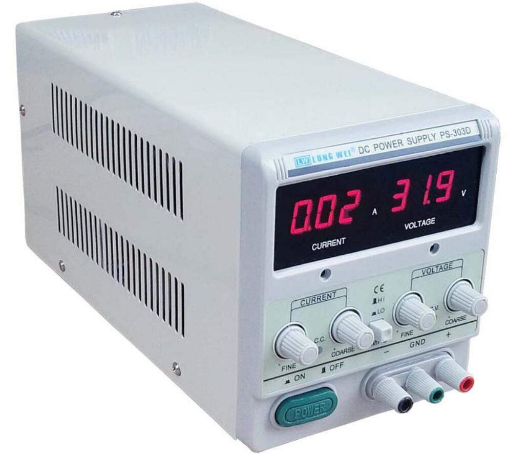 Высокая чувствительность 30 В 5A DC Питание для лабораторных Высокая точность регулировки 110 В/220 В Цифровой Регулируемый DC питание