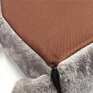 Image 4 - رمادي بيت قطة الماوس السرير المحمولة دافئ القط كهف السرير للإزالة أسفل مقاوم للماء لينة مناسبة كلب وسادة سرير للقطط البيت