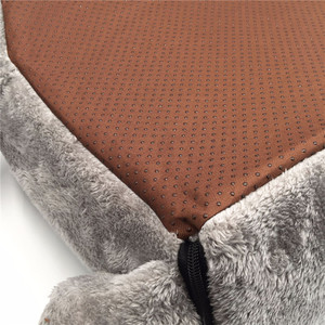 Image 4 - Gray Mouse Cat House Bed Portable Warm Cat Cave Bed Removable Bottom Waterproof Soft Suitable Pet Dog Cushion Cat Bed House