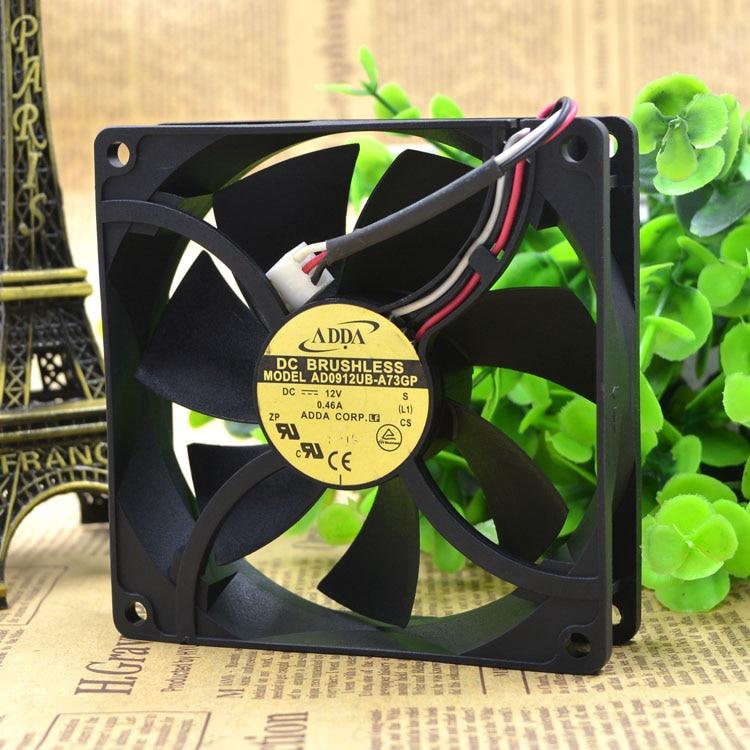 ADDA 9025 12 V 0.46A AD0912UB-A73GP 9 CM/CM ventilateur de refroidissement 90x90x25mm