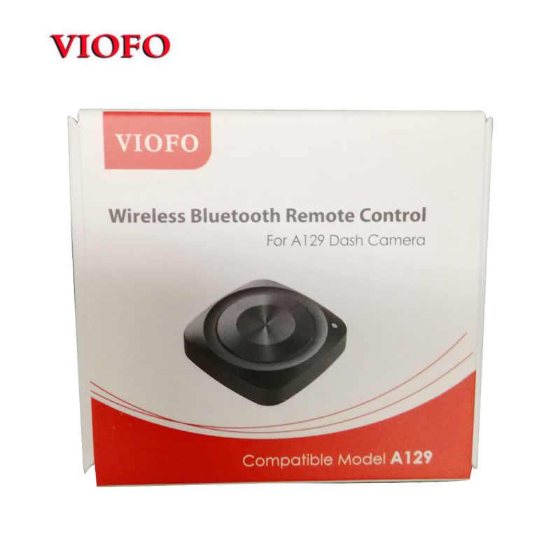 Оригинал «viofo» Bluetooth BT пульт дистанционного управления RC RM100 для A129 Duo Автомобильный видеорегистратор