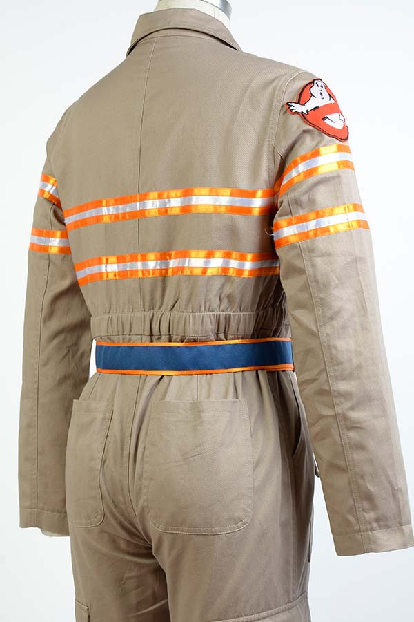 Womens Ghostbusters 3 Cosplay Costume Flight Females Jumpsuit 80s Fancy Dress up