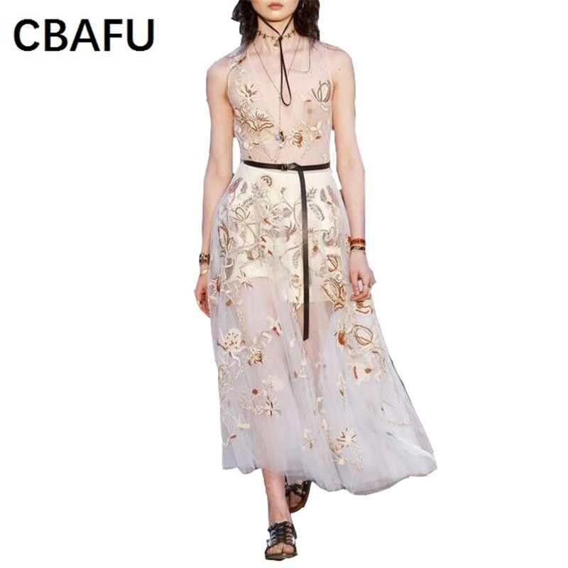 Aliexpress.com : Buy CBAFU high quality brand dress sleeveless ...