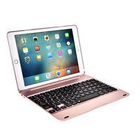 Voor Apple Ipad Pro 9.7/Ipad Air 1/2 Opvouwbaar Bluetooth Wireless Keyboard 78 Key Drop Bescherming Shell Kan Duren voor 60 Uur
