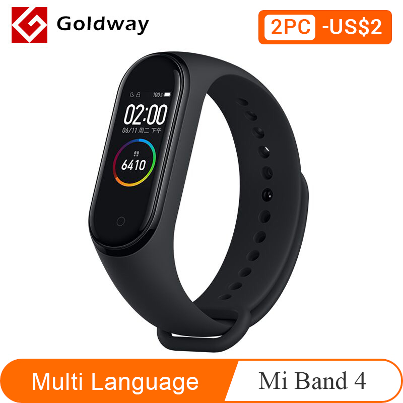 Xiaomi Mi Band 4 Smart Bracelet 3 Color AMOLED Screen Miband 4 Smartband Fitness