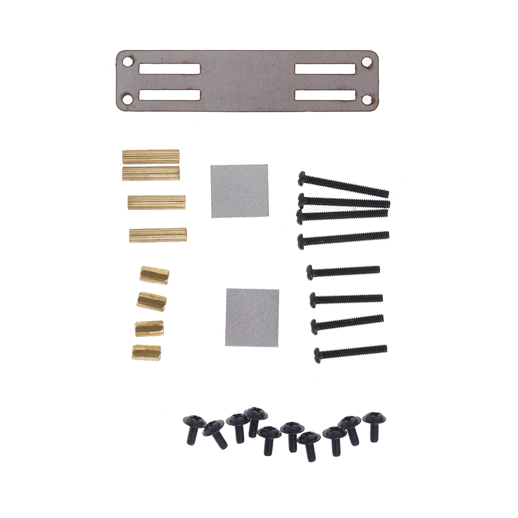 New Hot Sale Metal Servo Fixed Mount Bracket Kit Upgraded Parts For WPL RC Truck Car Accessories
