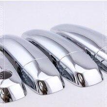 Новая хромированная накладка на дверные ручки для Suzuki Swift 2005-2010 Grand Vitara 2005 2006 2007 2008 2009 2010 2011 2012