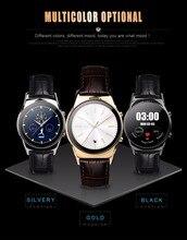 2016 neue Runde Smart Uhr LW03 Bluetooth 4,0 Smartwatch mit Wif Verbindung für Android und IOS Smartphone PK K18 inwatch DM88
