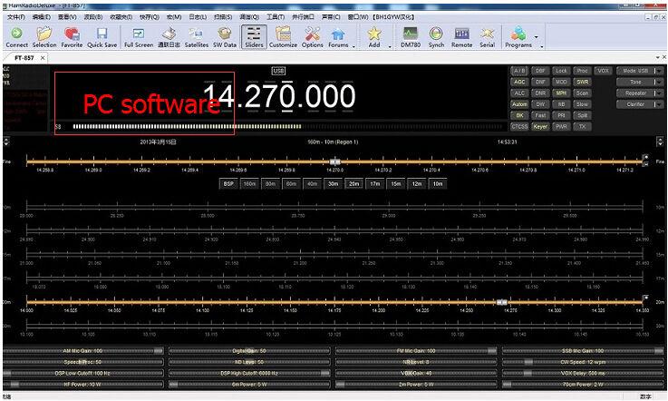 Image 3 - Gato para conversor adaptador Bluetooth para YAESU FT 817 FT 857  FT 897 brancocat 3516bcat womencat in the hat plush