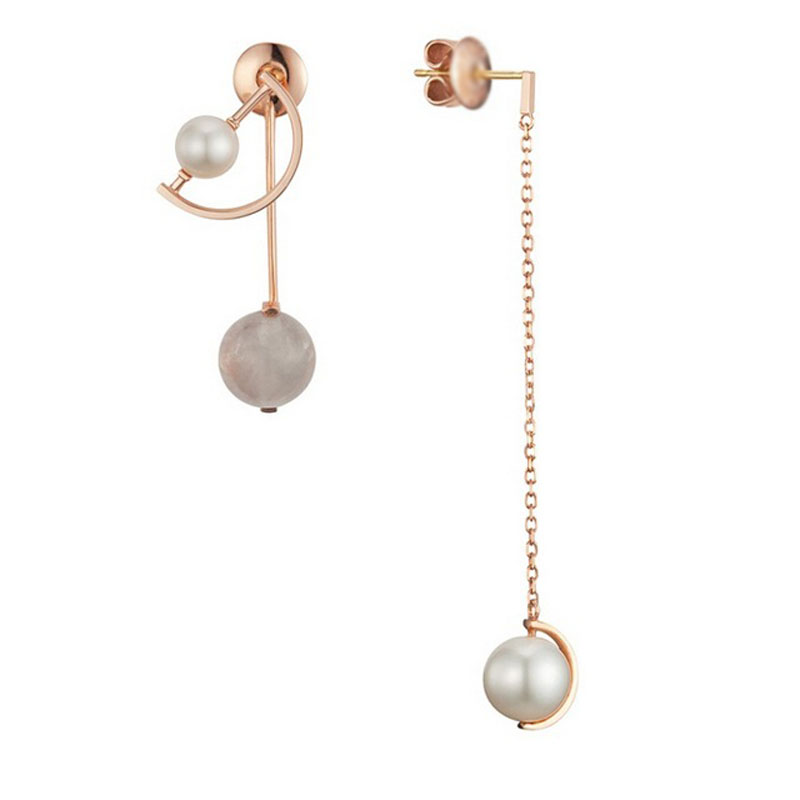 2017 NEW Pearl jewelry Earrings For Women High Quality Jewelry Pearl Earrings For Wedding Party
