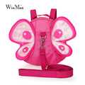 new arrival Anti-lost butterfly backpack for little kids 2 3 4 ages girls beautiful pink butterfly kindergarten toys backpacks
