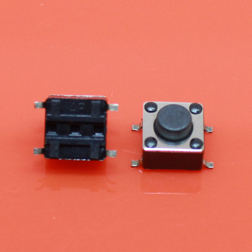 Cltgxdd AJ-126 6*6*5 6x6x5 H 5 MM DIP-4 tactile micro interrupteur/commutateur tactile/bouton interrupteur