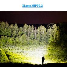 Wysokie lumeny najpotężniejsze XLamp xhp70 2 usb latarka z regulacją wiązki światła xhp70 xhp50 18650 lub 26650 akumulator polowanie tanie tanio HEDELI Odporny na wstrząsy Twarde Światło POWER BANK Samoobrona Regulowany BHS522A1 HS313A1 500 metrów 2-4 plików