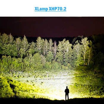 high lumens most powerful LED flashlight XLamp xhp70.2 usb Zoom torch xhp70 xhp50 18650 or 26650 Rechargeable battery hunting - DISCOUNT ITEM  50% OFF All Category