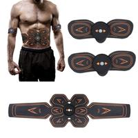 ABS Stimulator Muscle Toner Abdominal Toning Belt Home Gym Fitness Trainer USB Charging Electrostimulator Electro Stimulateur
