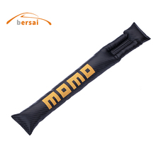 цена на MOMO Carbon fiber Car Seat gap filling seat leakproof Car styling for bmw volkswagen ford mustang renault toyota Seat accessorie