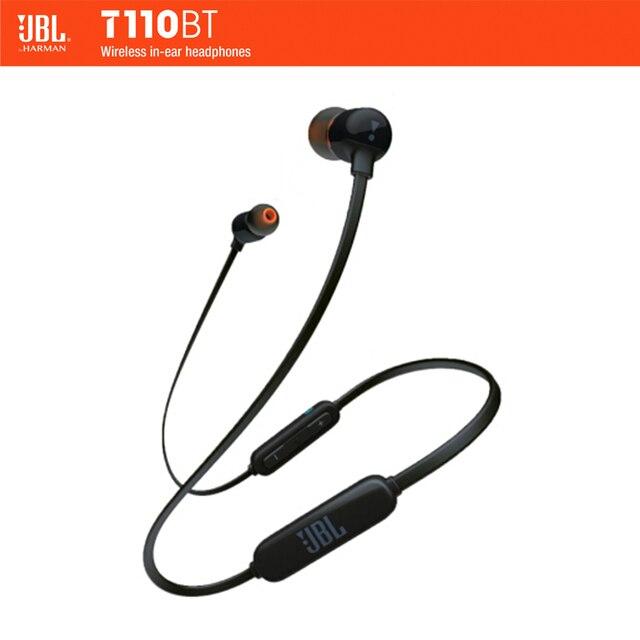 e19a843eee7 JBL T110 BT Wireless / Wired Earphone In-ear Sport Run Bass Sound Headset  For