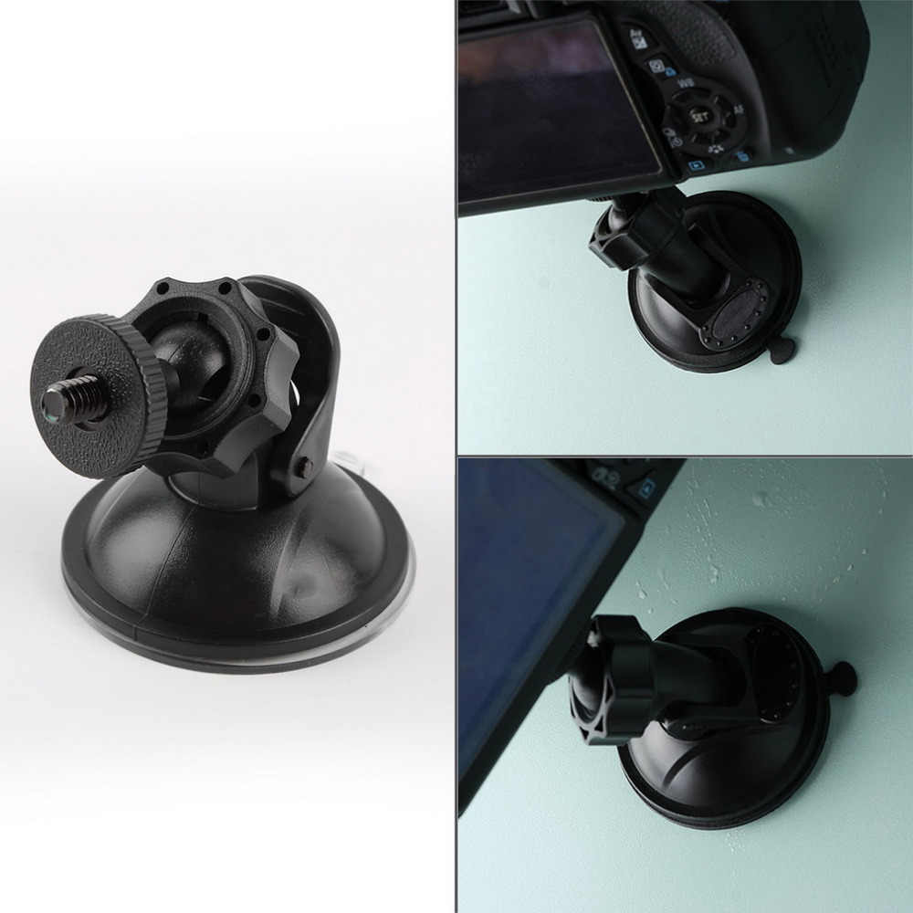 Professional Windshield Car Suction Cup Black Car Mount Stand Holder Clip Suitable Car Digital Video Recorder Camera Accessories