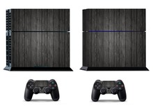 Wood 267 PS4 Skin PS4 Sticker