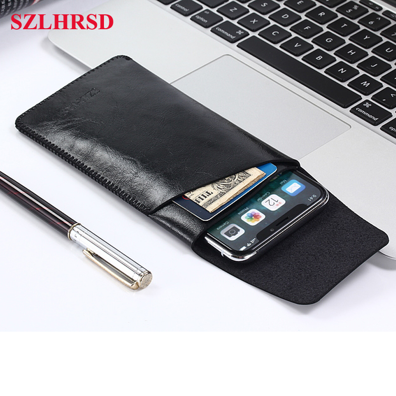 vivo Y97 Ulefone S11 HomTom H5 Mobile phone Leather case anti-fall all-inclusive double storage bag for SANTIN ACTOMA ACE 5.5