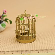 Mini doll house model <font><b>furniture</b></font> gift toy birthday diy bird cage 62100
