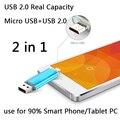 Real Capacity 8GB 16GB 32GB 64GB OTG Micro Usb Smart Phone USB Flash Drive 512GB Thumb Pendrive 1TB 2TB Memory Stick Disk On Key