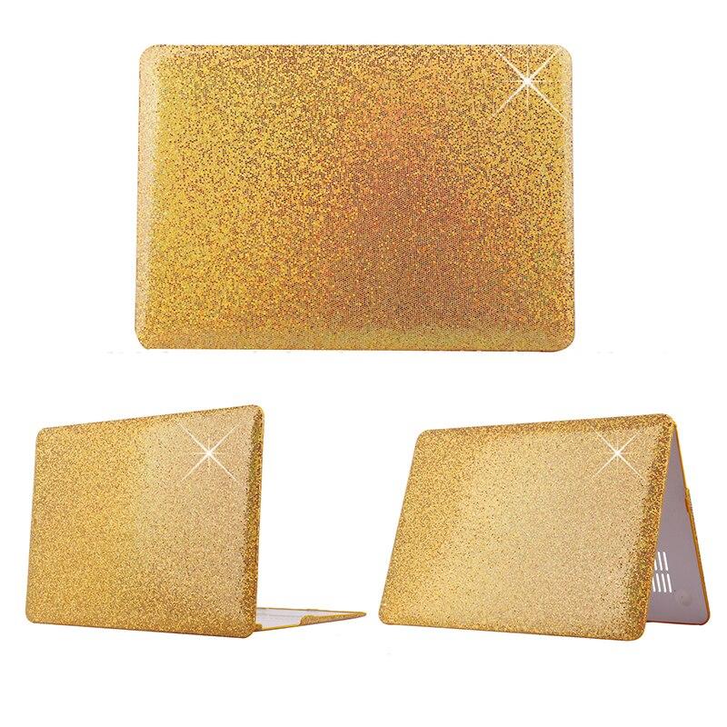 Błyszczący wzór plastikowy pokrowiec Fashion Brokat dla Macbook - Akcesoria do laptopów - Zdjęcie 4