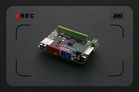 DFRobot CAN-BUS Щит V2.0, 3.3 ~ 5 В MCP2515 чип с MicroSD гнездо Поддержка UART/i2C/DB9 интерфейс для Arduino Микроконтроллер