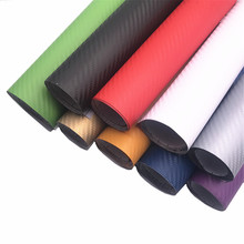 Car Styling 10x15x20x30x127cm DIY Waterproof Car Stickers 3D Car Carbon Fiber Vinyl Many Color Available Decorative Film Paper
