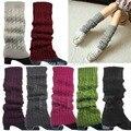 Christmas Gifts Women Winter Warm Slouch Knit Crochet High Knee Leg Warmers Leggings Boot