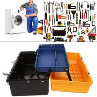 2 Layer Folding Tool Storage Box Portable Hardware Toolbox Multifunction Car Repair Container Case