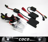 Wholesale 12v AC 35w SLIM BALLAST H1 Replacement Hid Conversion Kit ALL COLORS 3000K 4300K 6000K