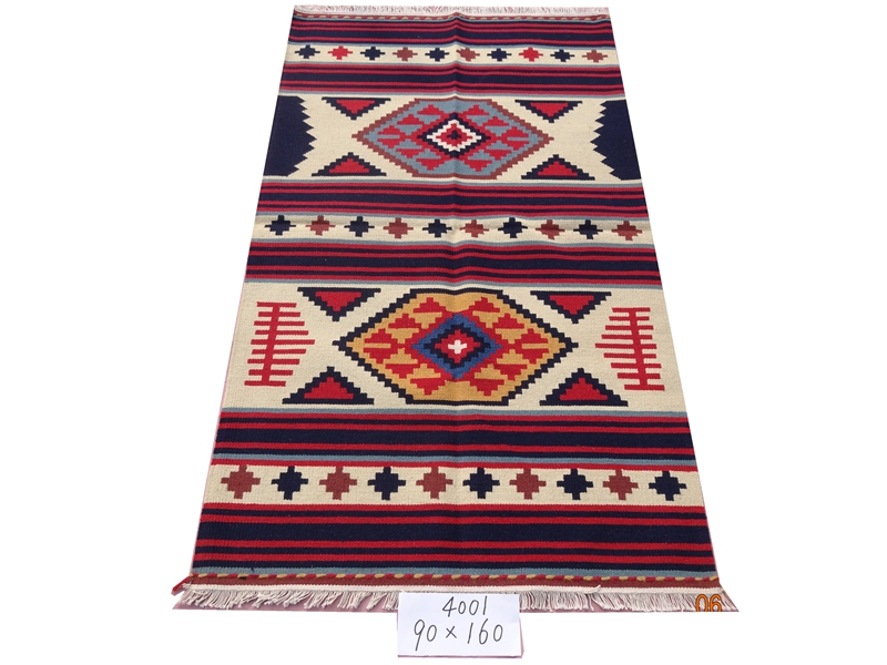 Kilim Fabric Handwoven Carpets For Living Room Pattern Geometric Rug Turkish Prayer Rugs Natural Sheep Wool