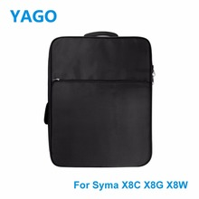 YAGO Drone Waterproof Backpack for Syma X8C X8G X8W Quadcopter Spare Parts Storage Package drone waterproof backpack
