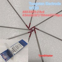 Tungsten Electrode WT20 4 0mm 5 32 X150mm 6 10pcs Pack TIG Welding 2 0 Thoriated