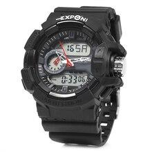 Watch Men Sports Man Wristwatch Quartz Dual Display Boy Clock