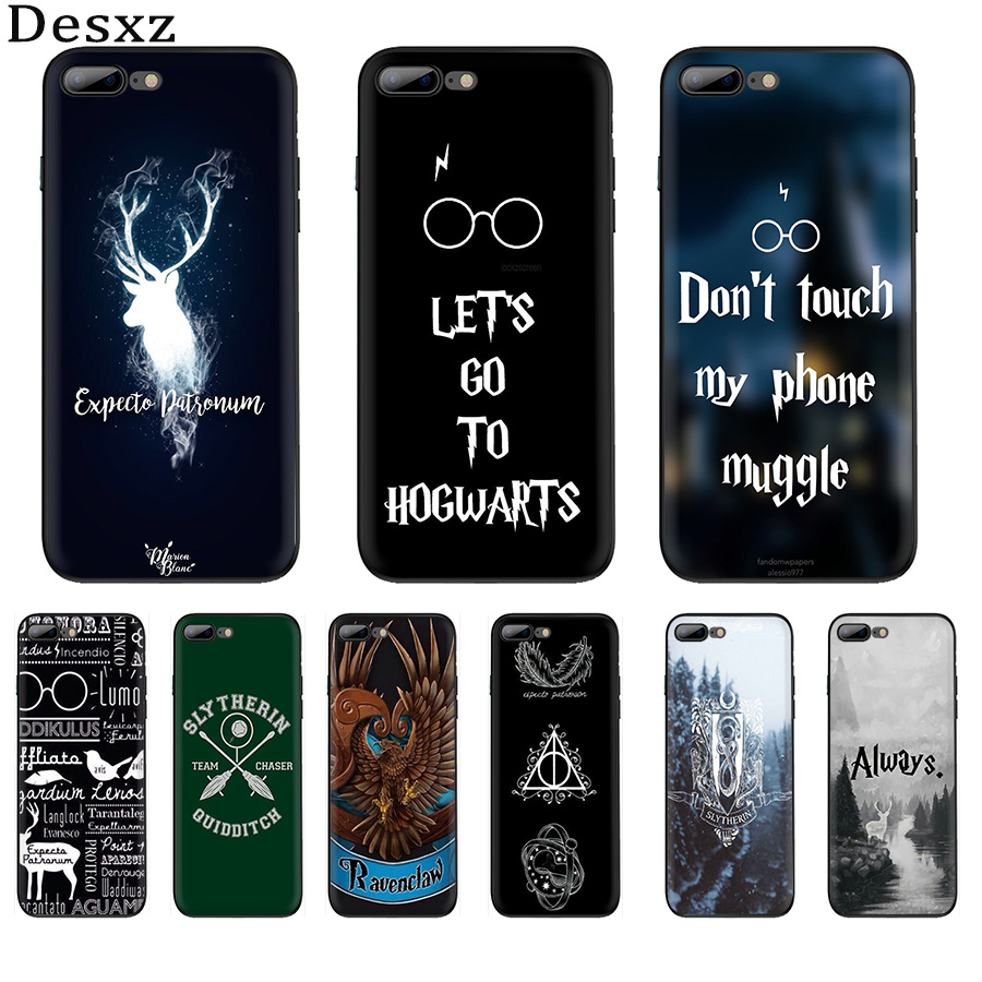 Mobile Phone Case TPU <font><b>HarryPotter</b></font> Dynamic Cover for iPhone 6 6s 7 8 Plus iPhone 11 Pro X XS XR Max 5 5s SE Shell image