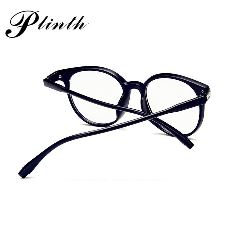 PLINTH Classic Reading Sunglasses Women Transparent Lens Round Sun Glasses Vintage Ray Bann Sunglasses Ladies Refined Frame